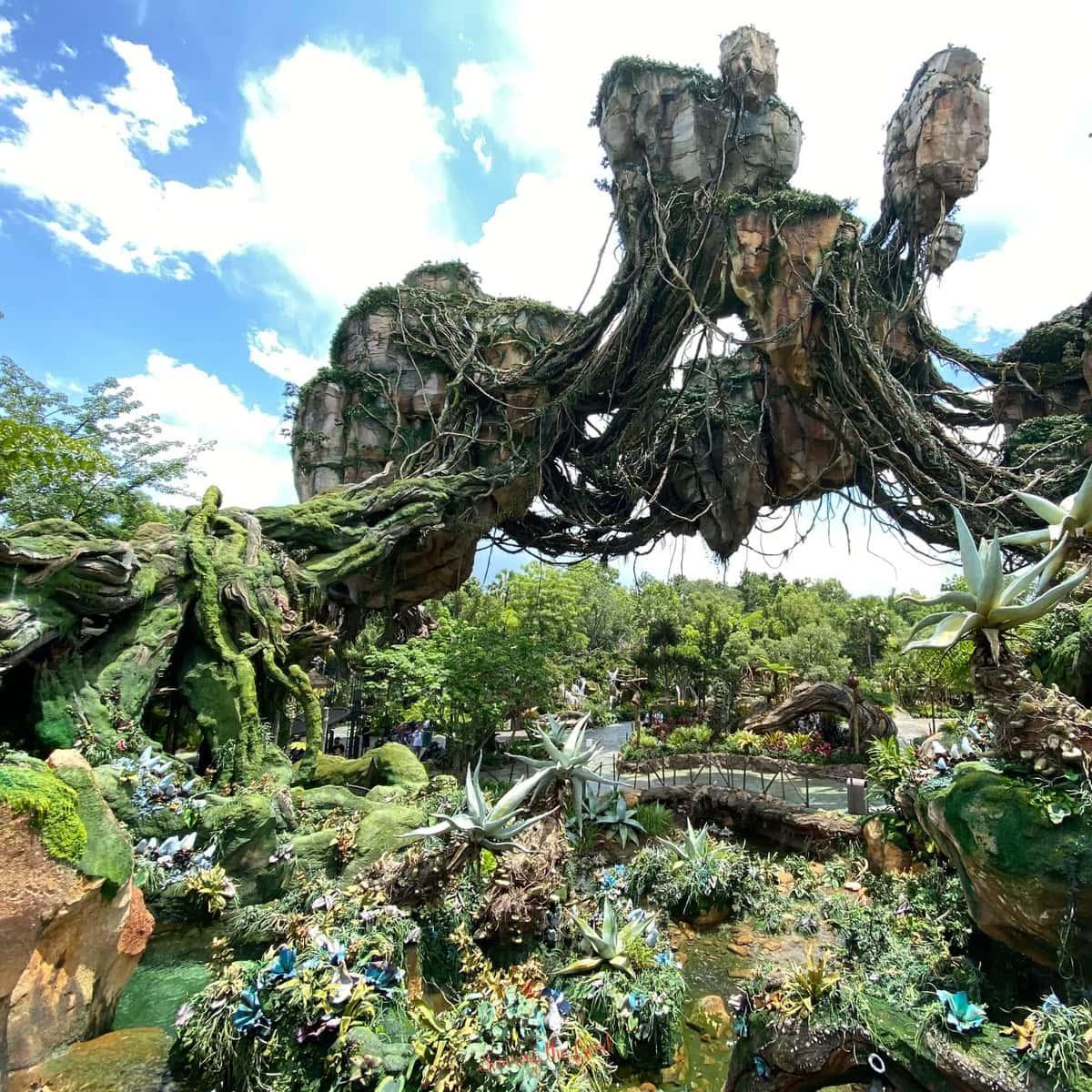 Pandora World of Avatar Floating Mountains 2 of Pandora wallpaper background for Microsoft Teams