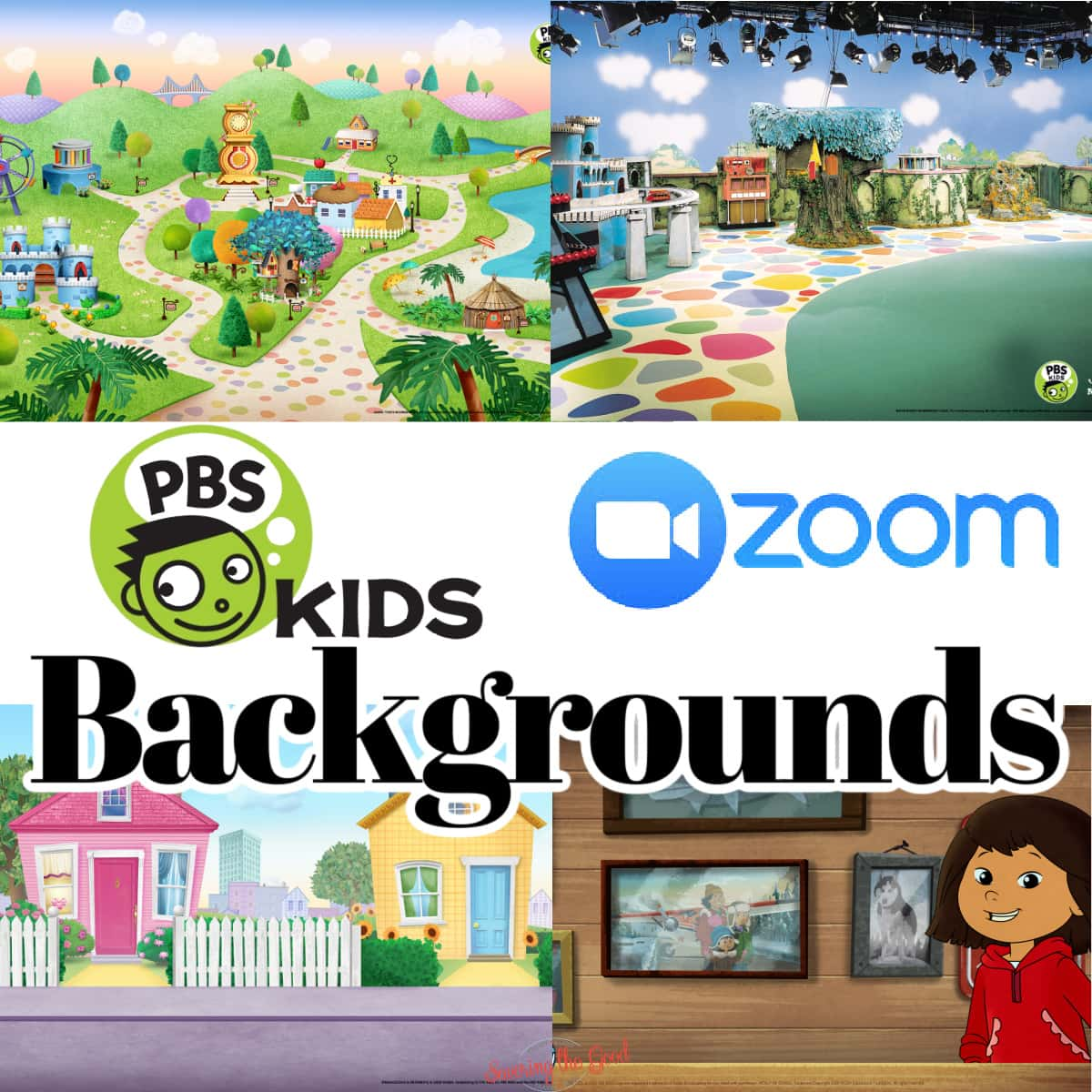 PBS Kids Virtual Backgrounds graphic