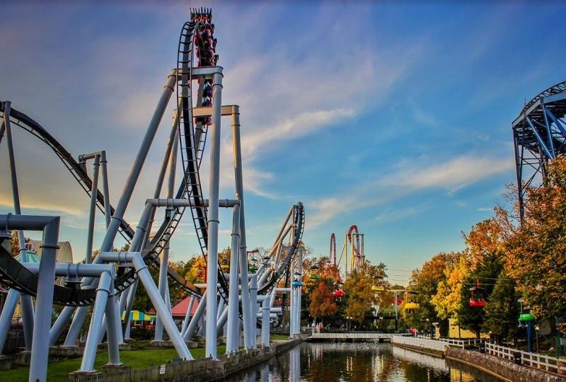 great bear rollercoaster hersheypark fall