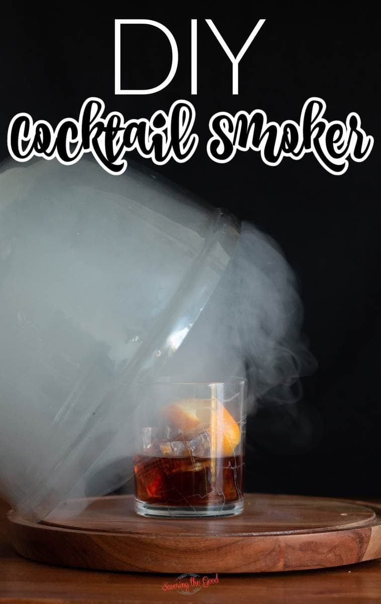 cocktail smoker image for pinterest