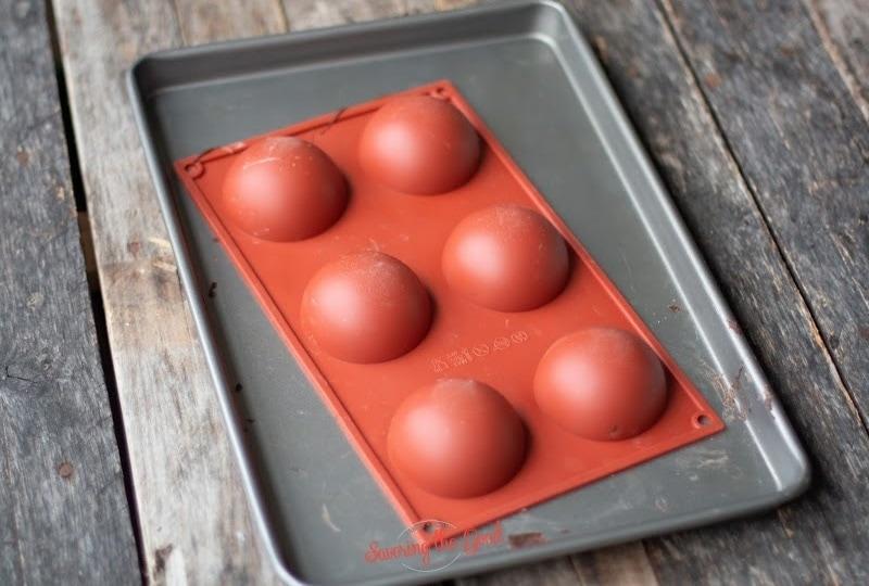 silicone hot chocolate bomb mold