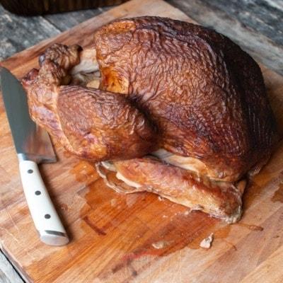 smoked turkey whole square image