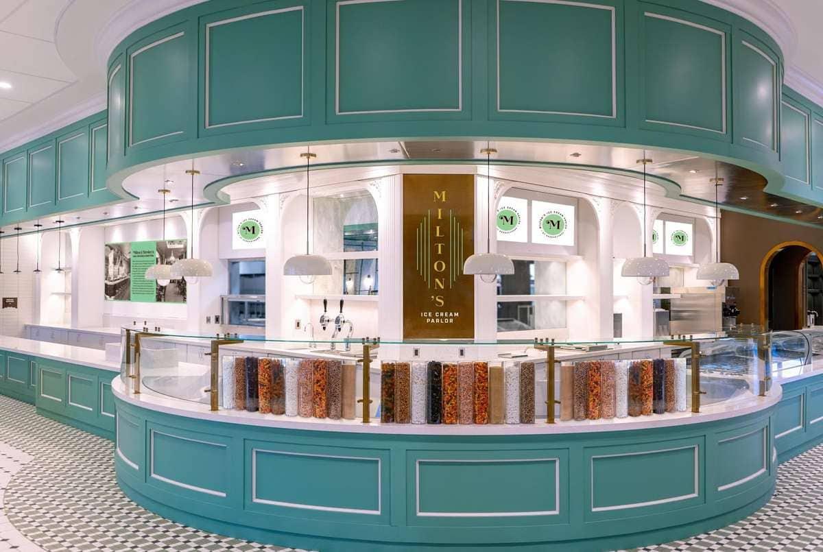 Milton's Ice Cream Parlor front image