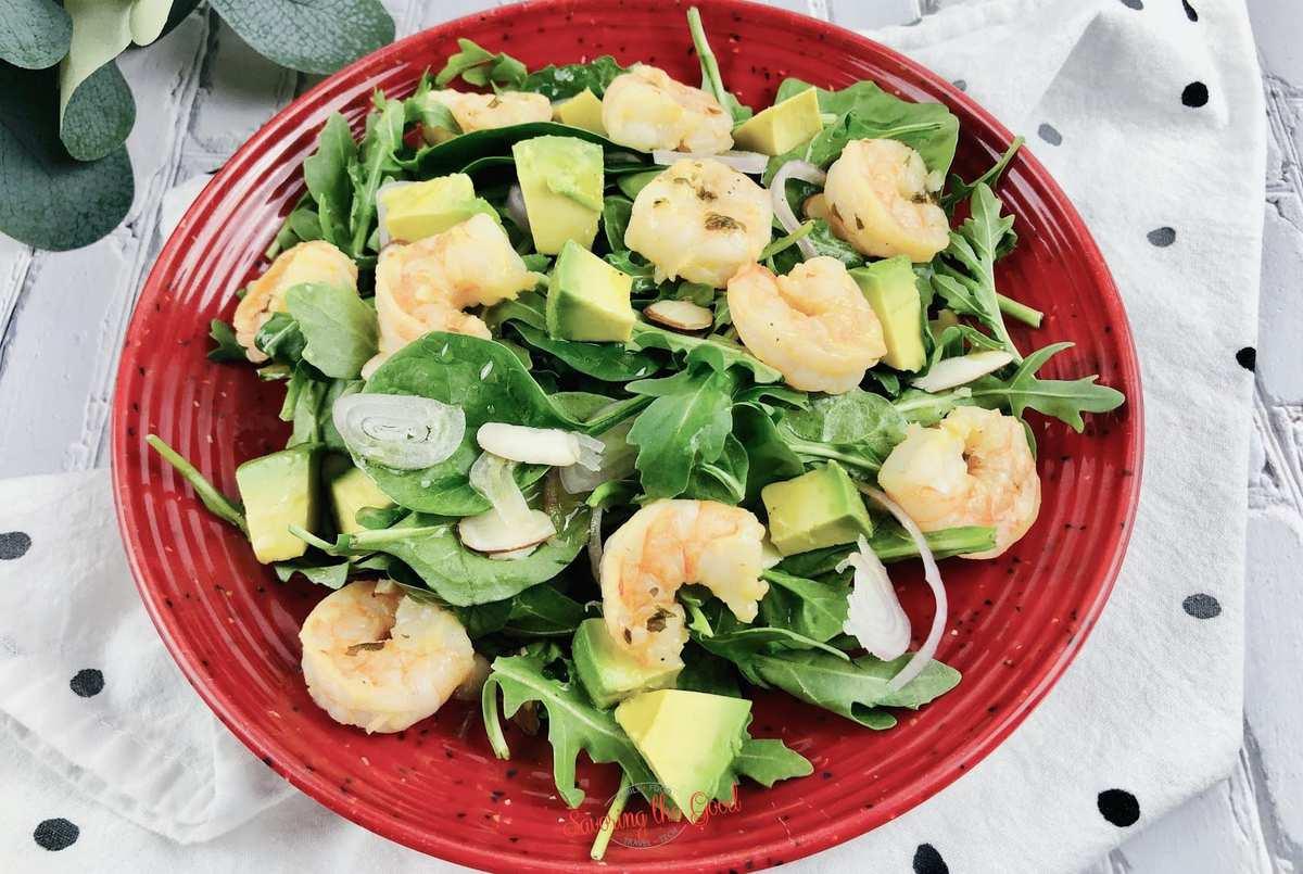 Shrimp Avocado Salad horizontal image