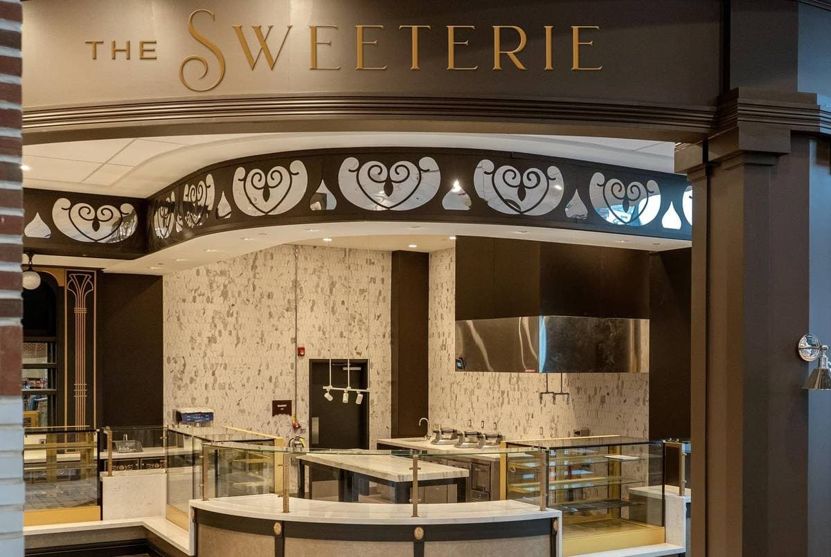 The Sweeterie Confectionery Kitchen at chocolatetown