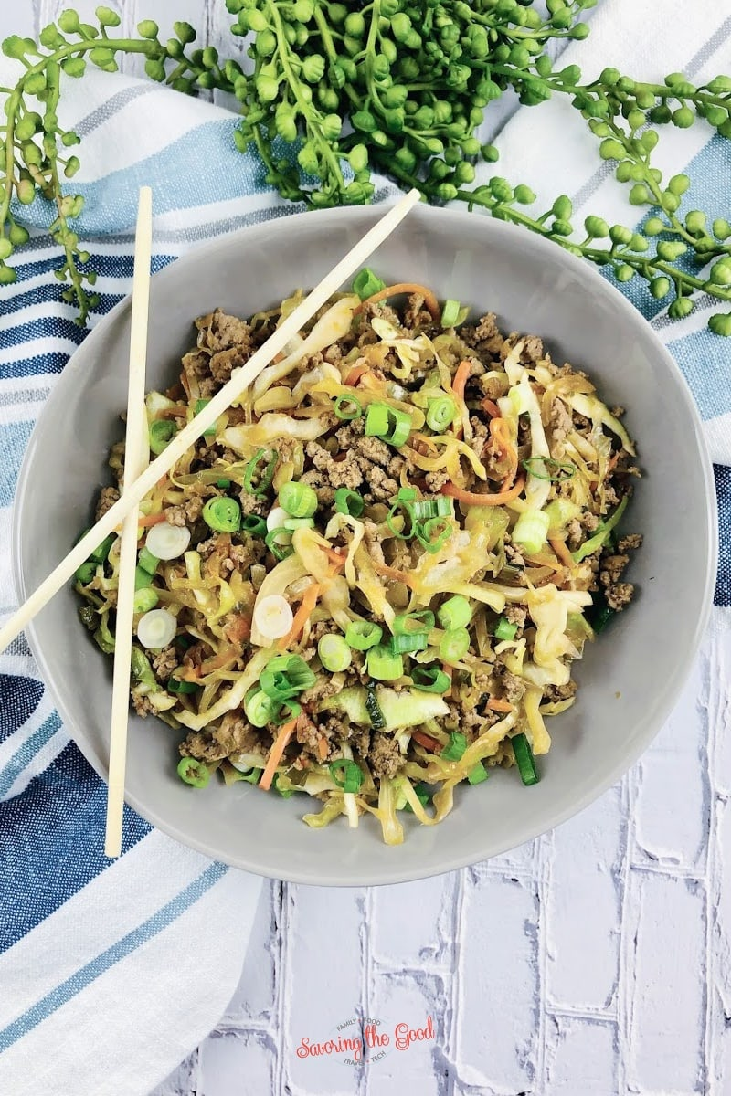 WW Egg Roll In A Bowl Recipe hereo image