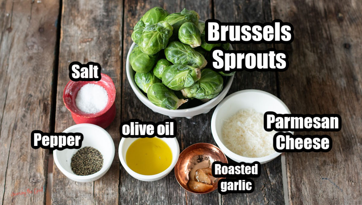 Smashed Brussel Sprouts ingredients