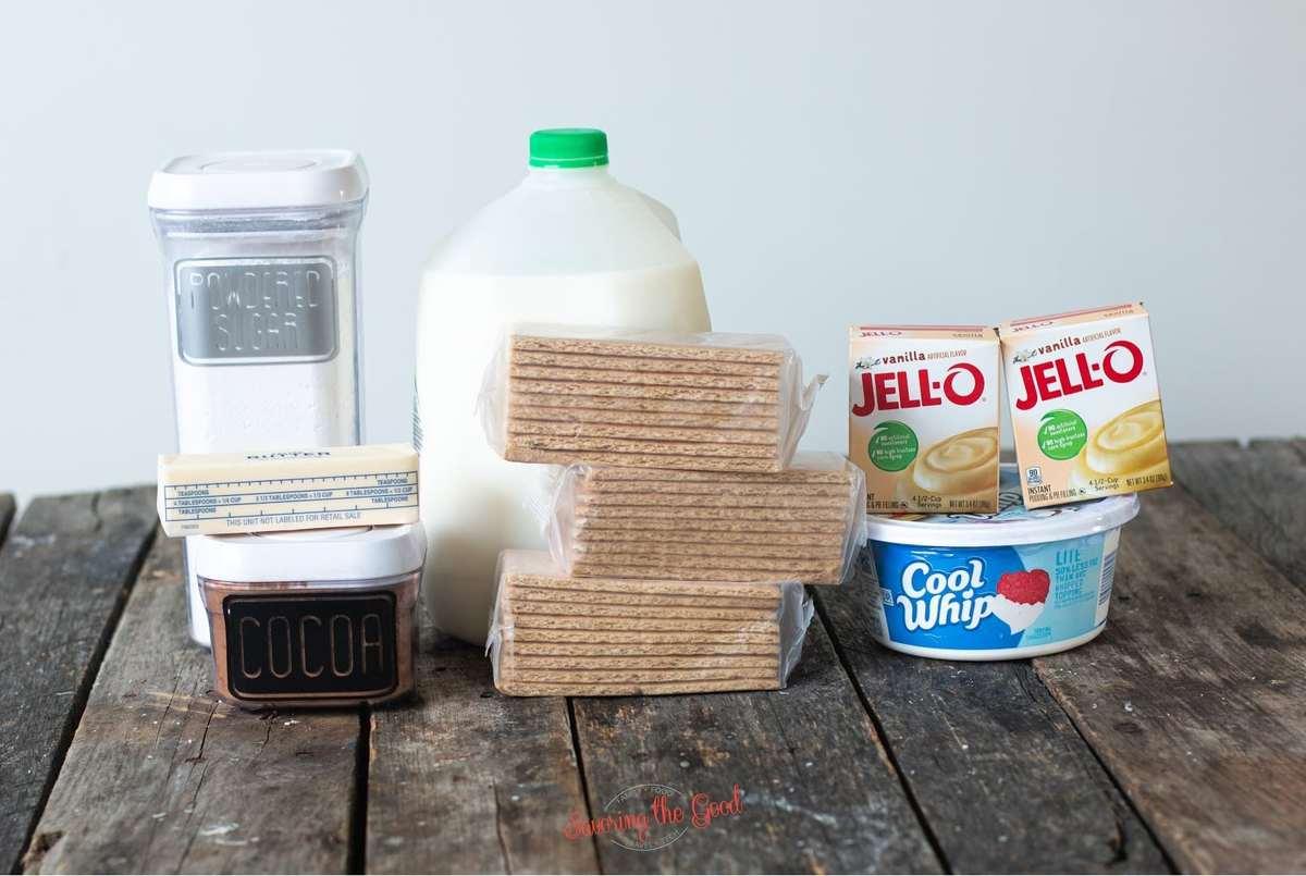 eclair cake ingredients