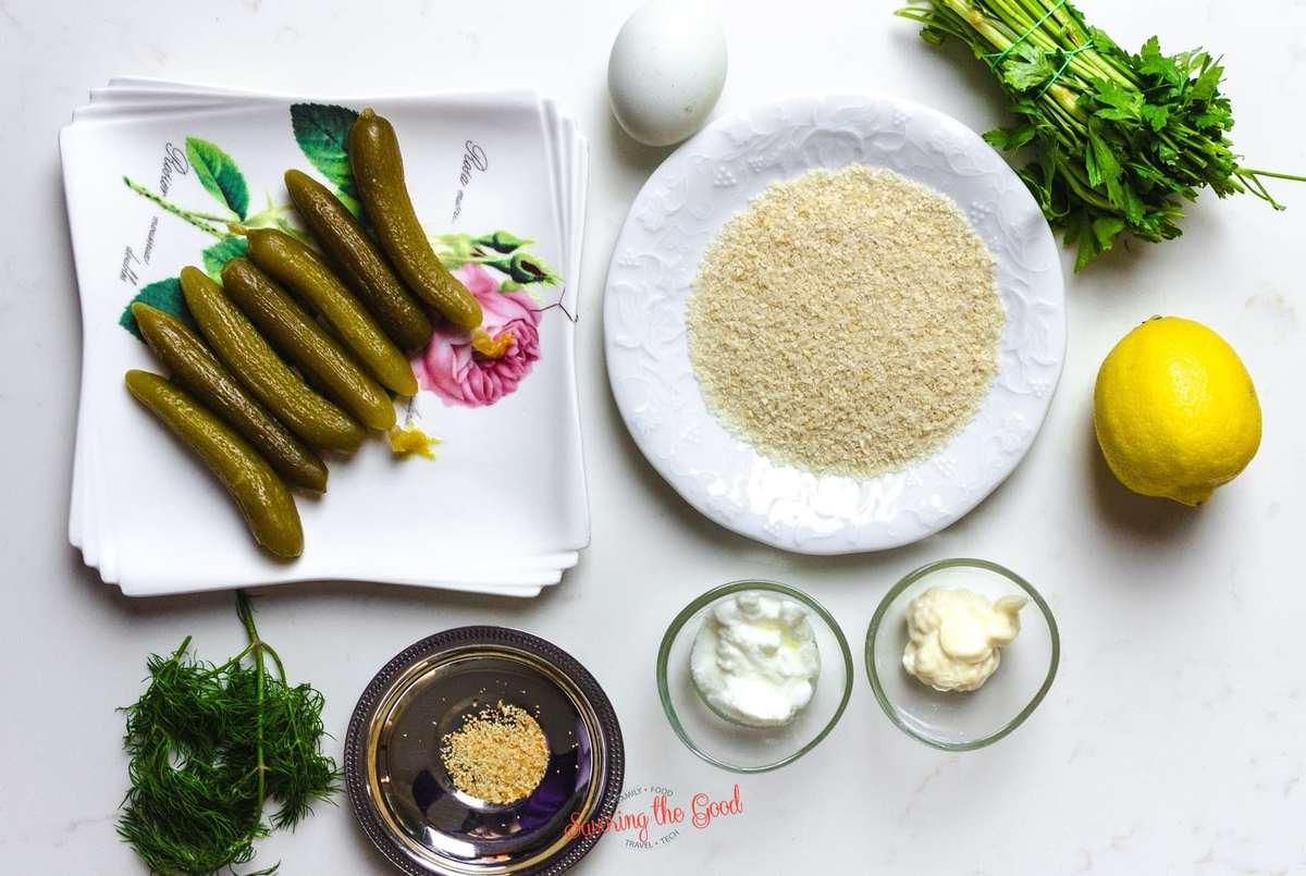 fried pickle spears ingredients