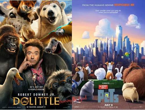 2021 regal summer movie express dr doolittle and secret life of pets