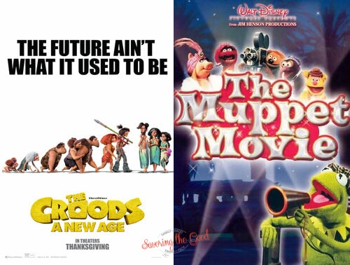 2021 summer movie express the muppet movie and the croods new age movie poster