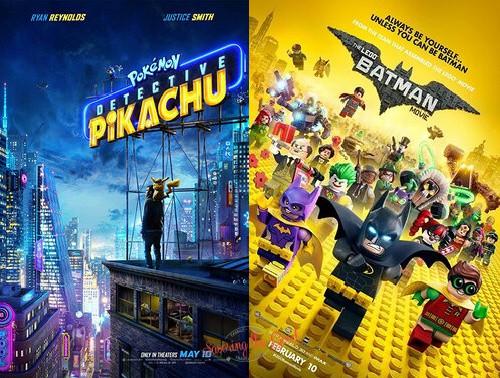 dollar summer movies logo batman and pokemon movie posters