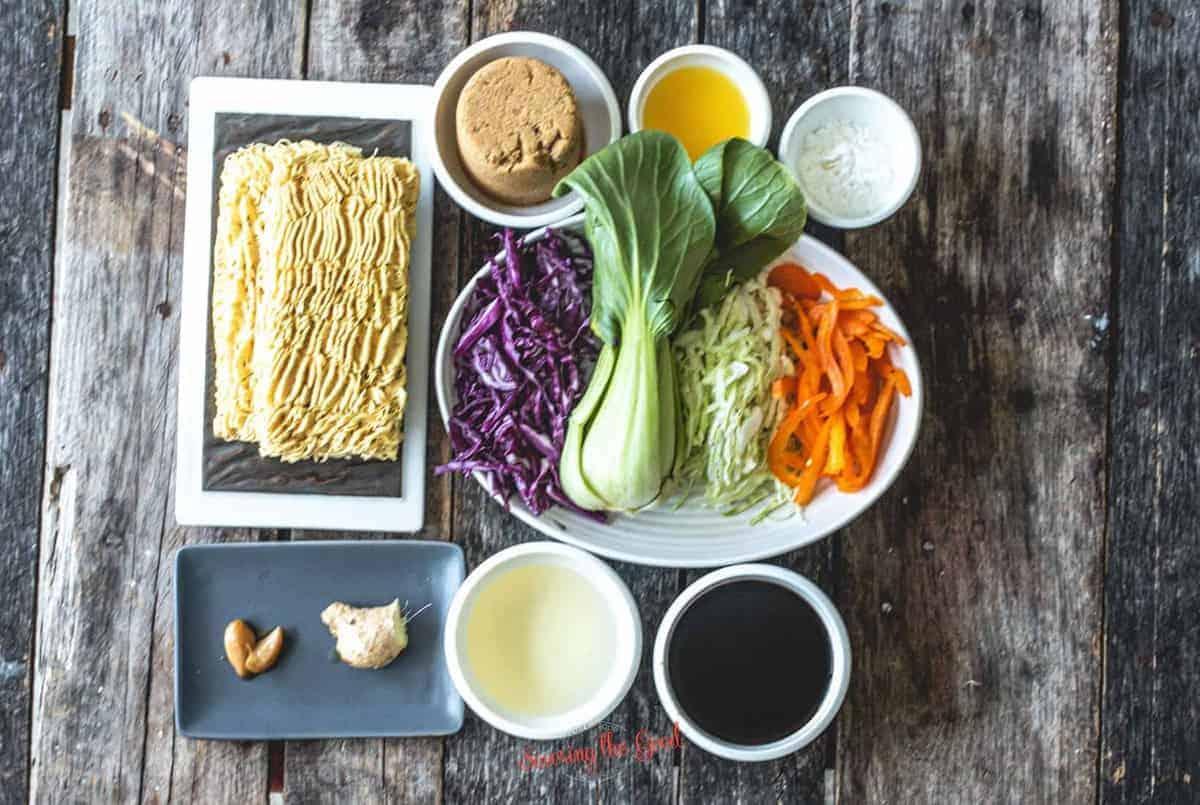 Ohana Noodles ingredients