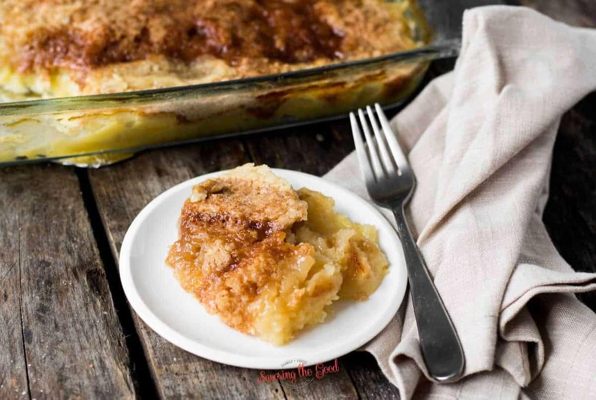 Pineapple Dump Cake horizontal image