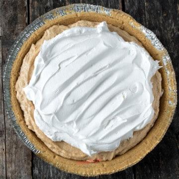 Peanut butter pie no bake recipe