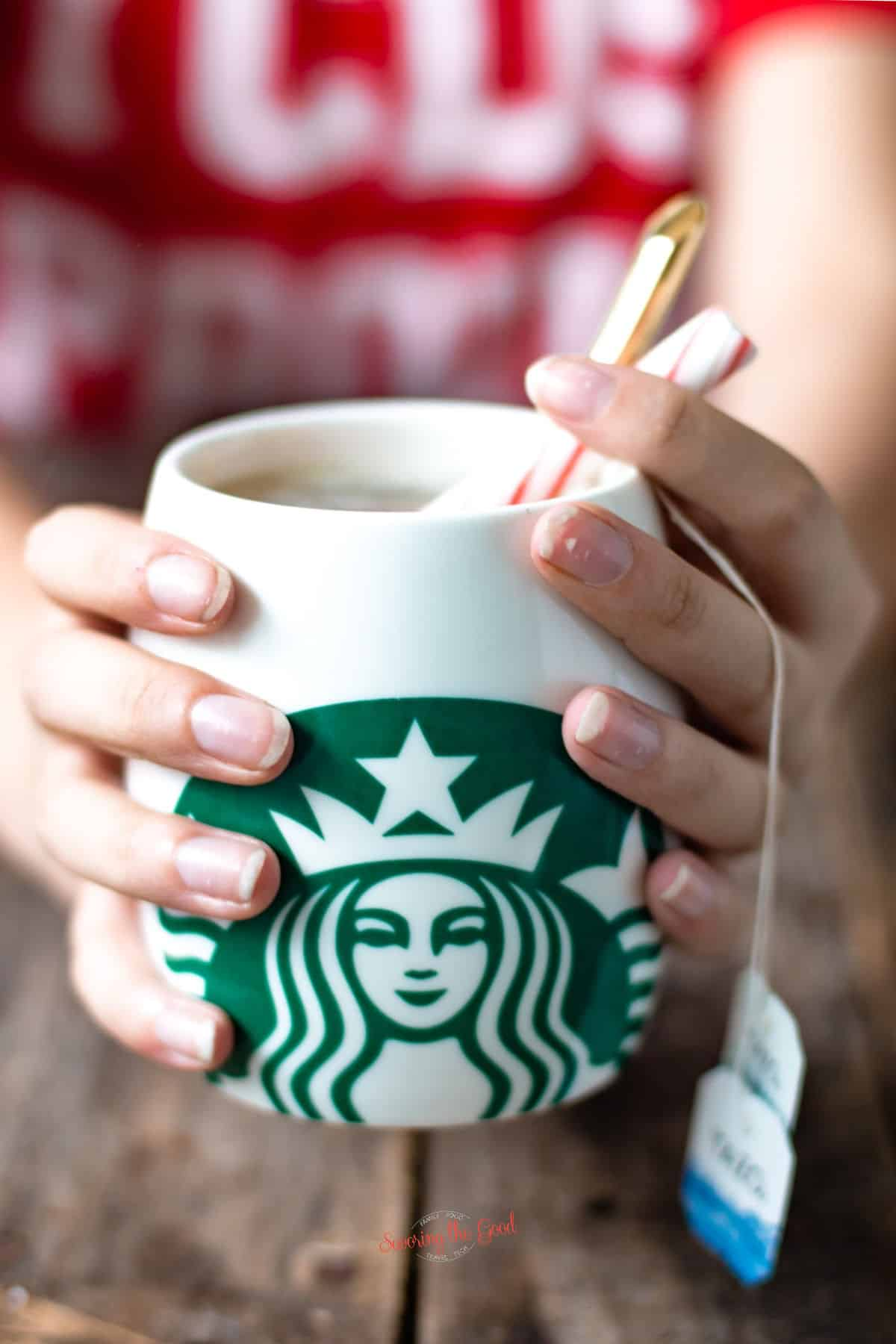 Starbucks Medicine Ball tea