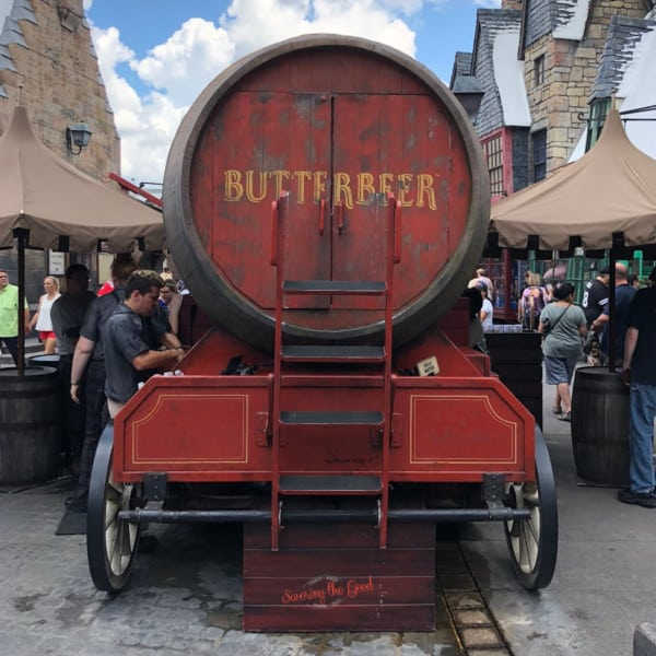 butter beer cart in universal orlando square image
