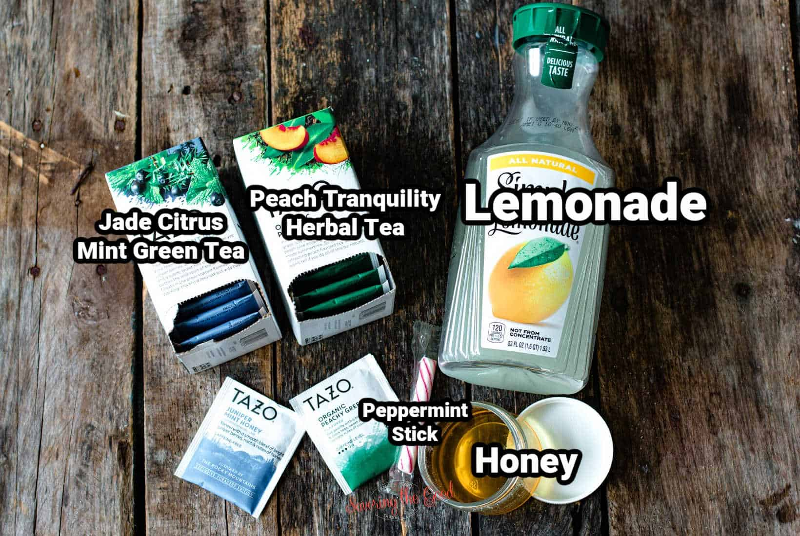 starbucks medicine ball tea ingredients with text overlay