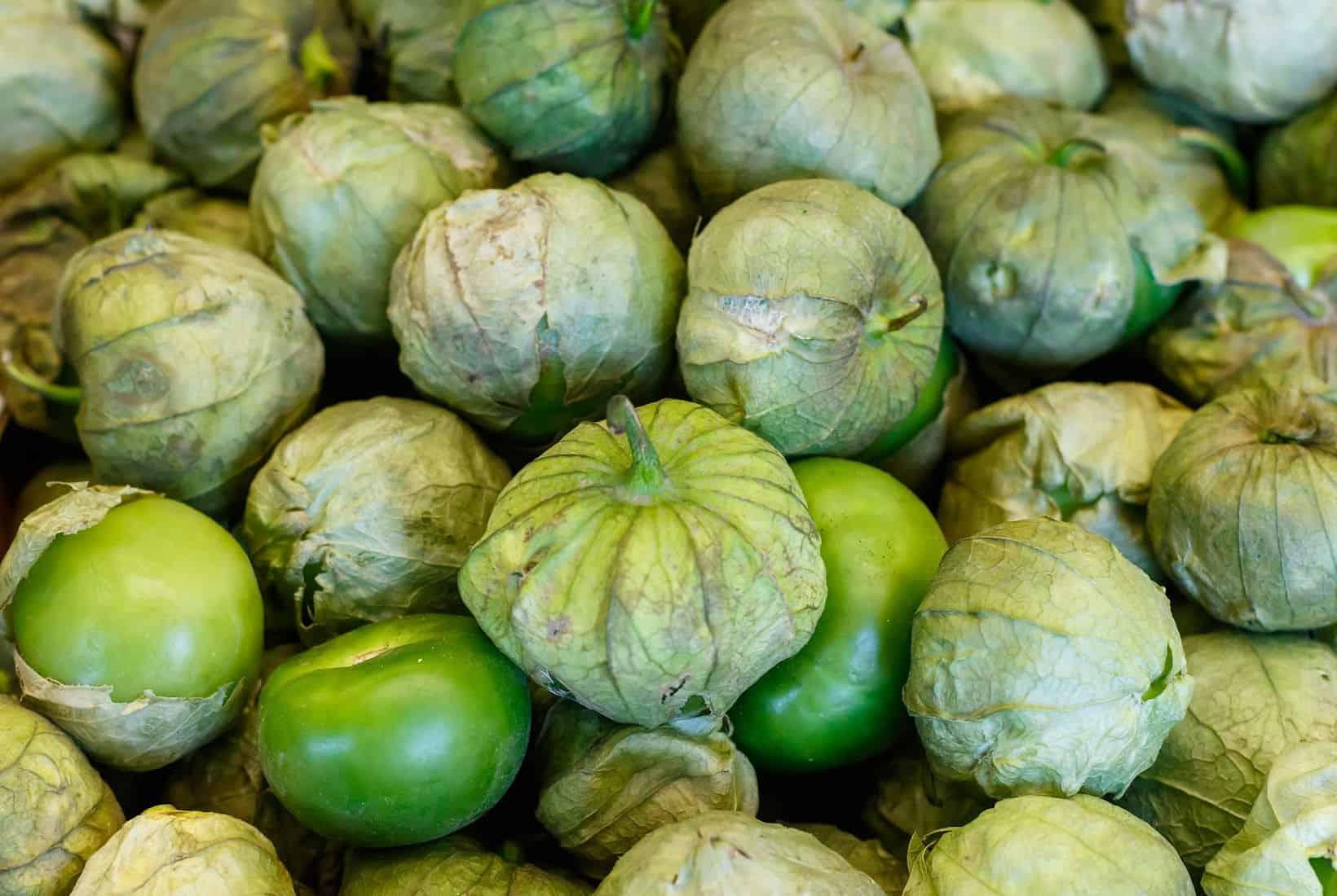 Tomatillos from shutterstock