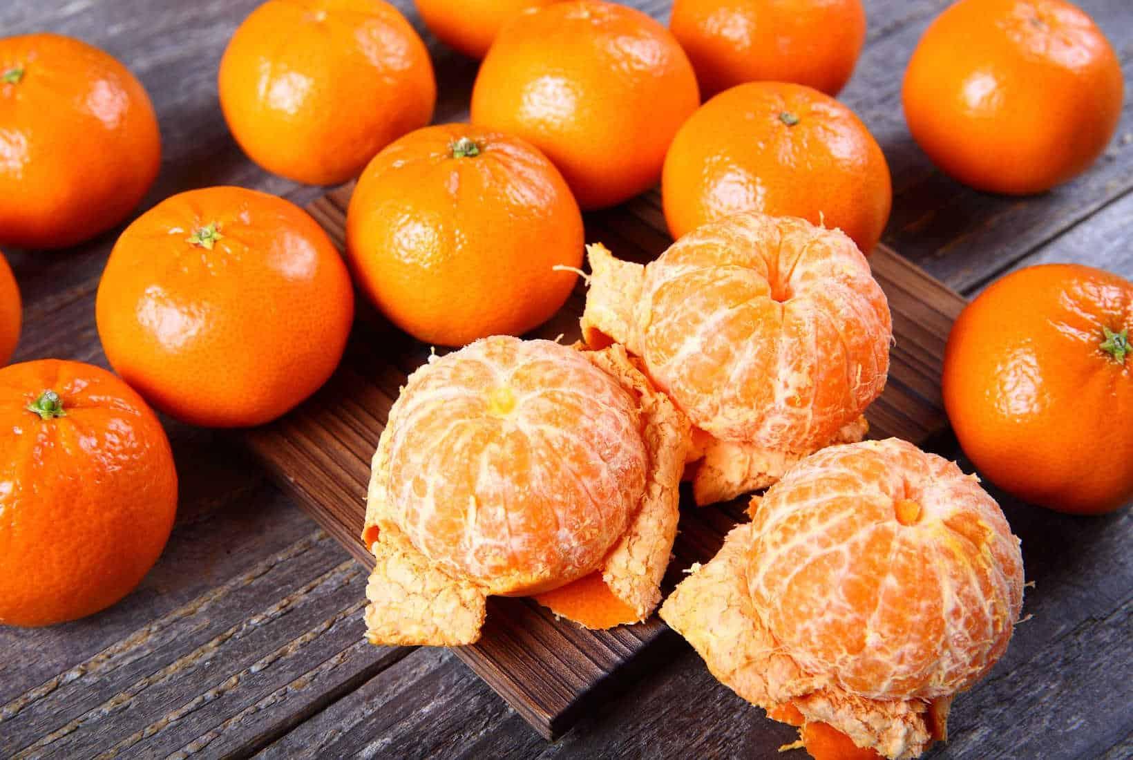 tangerines image from shutterstock