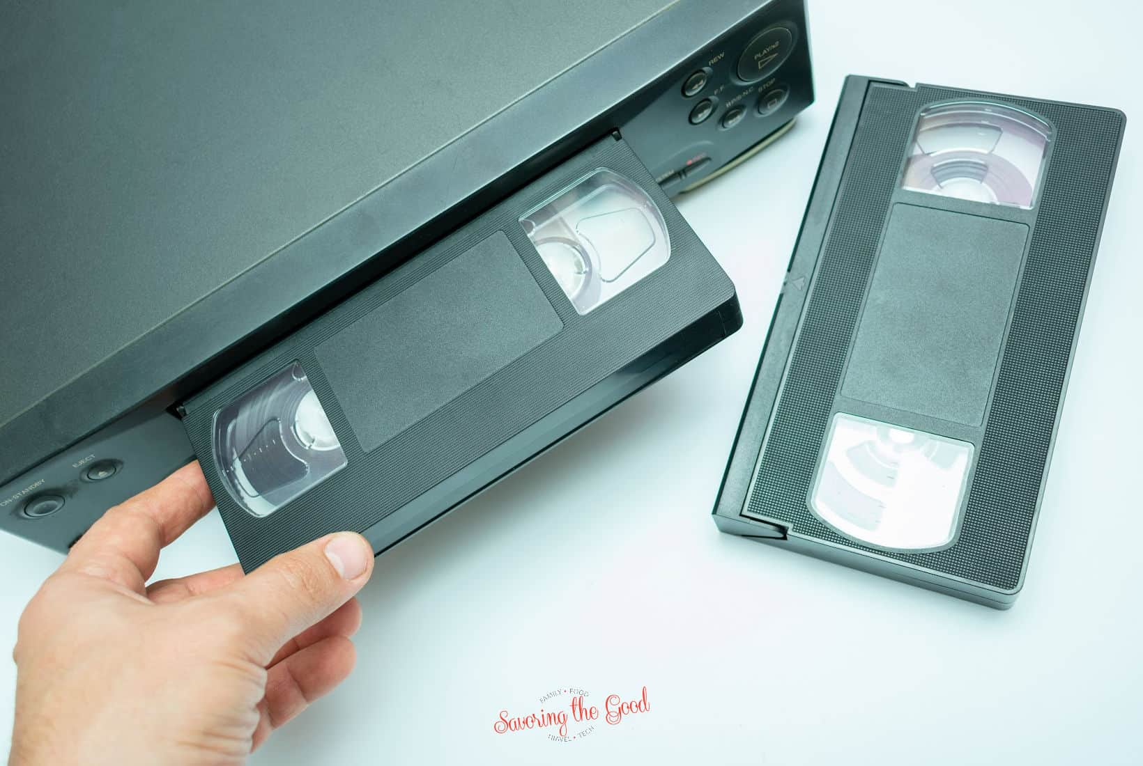 vcr and vcr recorder